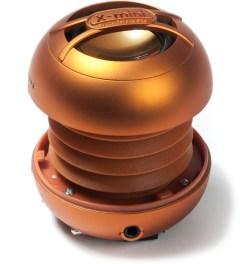 X-mini Orange X-mini UNO Capsule Speaker  Picutre