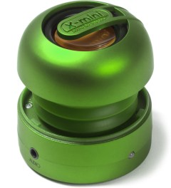 X-mini Green Capsule MAX Speaker  Picutre