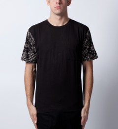 ZANEROBE Black Debacle T-Shirt  Model Picutre
