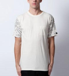 ZANEROBE White Debacle T-Shirt Model Picutre