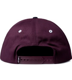 Acapulco Gold Burgundy UP IN Smoke Snapback Cap Model Picutre