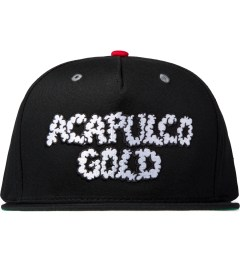 Acapulco Gold Black UP IN Smoke Snapback Cap Picutre