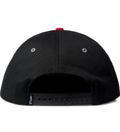 Acapulco Gold Black UP IN Smoke Snapback Cap Model Picutre