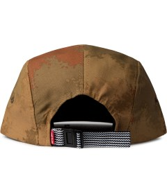 Acapulco Gold Tan Camo Angry Lo Camp Cap Model Picutre