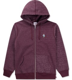 Acapulco Gold Salt & Pepper Port Angry Lo Bear Full Zip Hoodie Picutre