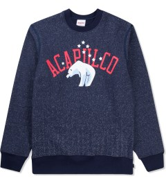 Acapulco Gold Salt & Pepper Navy Siberian Sweater Picutre
