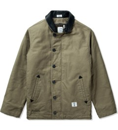 "Bedwin & The Heartbreakers Olive ""Asylum"" N-1 Deck Jacket  Picutre"