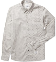 "Bedwin & The Heartbreakers Grey ""Tailor"" L/S OG Dot Board Shirt Picutre"