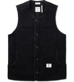 "Bedwin & The Heartbreakers Black ""Margo"" OG Beach Cloth Vest  Picutre"