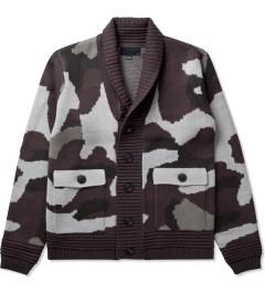 Black Scale Black Kaiser Knitwear Jacket  Picutre