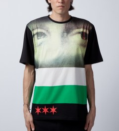 Black Scale Black Visione T-Shirt  Model Picutre