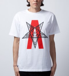 Black Scale White Abstract Reality T-Shirt  Model Picutre