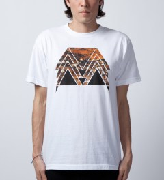 Black Scale White Triumph T-Shirt  Model Picutre