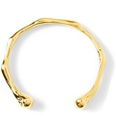 Black Scale Gold Old Bone Bracelet  Model Picutre