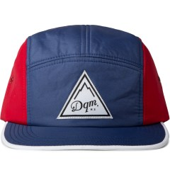 DQM Blue/Red Brunswick 5-Panel Camp Cap  Picutre