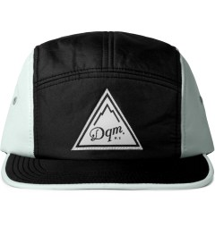 DQM Black/Silver Brunswick 5-Panel Camp Cap  Picutre