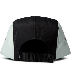 DQM Black/Silver Brunswick 5-Panel Camp Cap  Model Picutre