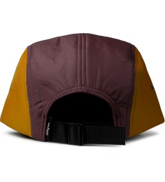 DQM Maroon/Squash Brunswick 5-Panel Camp Cap  Model Picutre