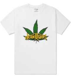 Deadline White Leaf T-Shirt Picutre