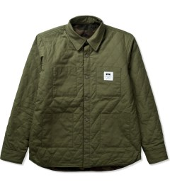 FTC Khaki Reversible Puff Jacket  Picutre