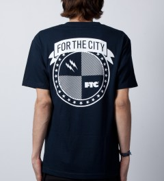 FTC Navy Strike T-Shirt  Model Picutre