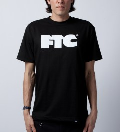 FTC Black OG Logo T-Shirt  Model Picutre