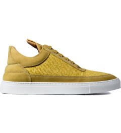 Filling Pieces Yellow Nubuck Low Top Shoe Picutre