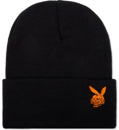 FUCT Black/Orange Death Bunny Watch Cap  Picutre
