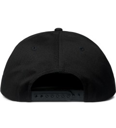 FUCT Black/Orange OG Logo Snapback Cap  Model Picutre