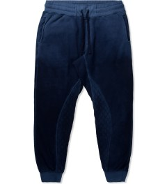 Grungy Gentleman Navy Grungy Gentleman x Cotton Citizen Quilted Sweatpant Picutre
