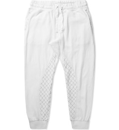 Grungy Gentleman White Grungy Gentleman x Cotton Citizen Quilted Sweatpant Picutre