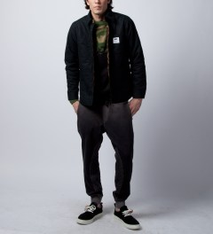 Grungy Gentleman Black Grungy Gentleman x Cotton Citizen Quilted Sweatpant Model Picutre