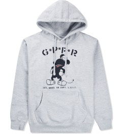 GPPR Heather Grey Bomber Pullover Hoodie  Picutre