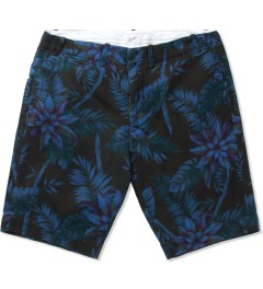 Garbstore Navy Tropical Five Jet Chino Shorts Picutre
