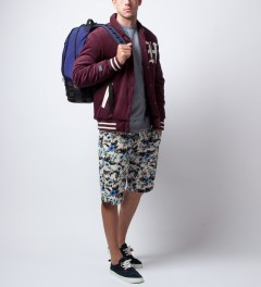 Garbstore Aran Tropical Five Jet Chino Shorts Model Picutre