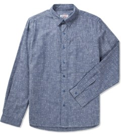 Garbstore Blue Dot Map Pocket Shirt  Picutre