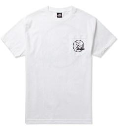 Heel Bruise White Trucker T-Shirt  Picutre