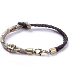 Icon Brand Beige Nautical Rope Tied LE987-BR-BEI Bracelet  Picutre