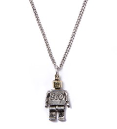 Icon Brand Burnished Gold Miniature Moveable Toy P210-N Necklace Picutre