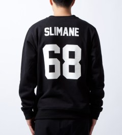 LES (ART)ISTS Black Slimane 68 Sweater  Model Picutre