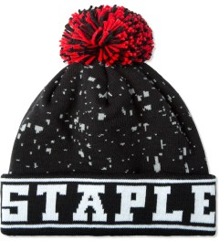 Staple Black Mcnabb Beanie Picutre