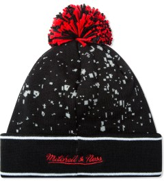 Staple Black Mcnabb Beanie Model Picutre