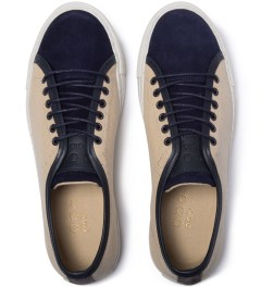 piola Blue/beige Pisco Shoe Model Picutre