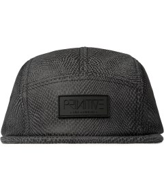 Primitive Grey Shapes 5-Panel Cap  Picutre