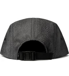 Primitive Grey Shapes 5-Panel Cap  Model Picutre