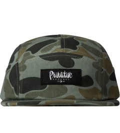 Primitive Green Work Script Camo 5-Panel Cap  Picutre
