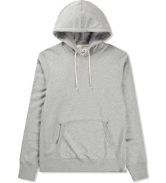 Reigning Champ Heather Grey RC-3206 Midweight Twill French Terry Pullover Hoodie Picutre