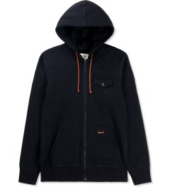 Reigning Champ Black RC-3230 Heavyweight Full Zip Hoodie  Picutre