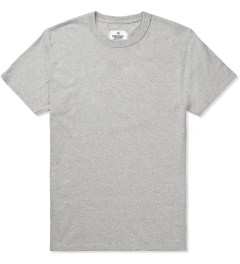 Reigning Champ Heather Grey RC-1029 Cotton Jersey Set 2 Pack T-Shirt Picutre