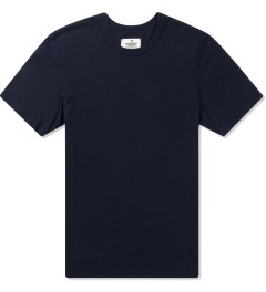 Reigning Champ Heather Navy RC-1028-1 Cotton Jersey T-Shirt Picutre